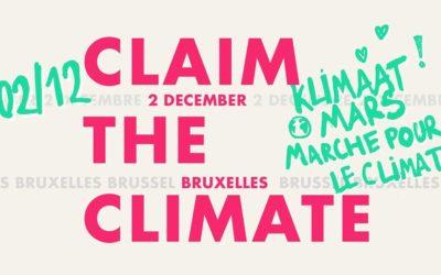 Le 2 décembre: on marche pour le climat!