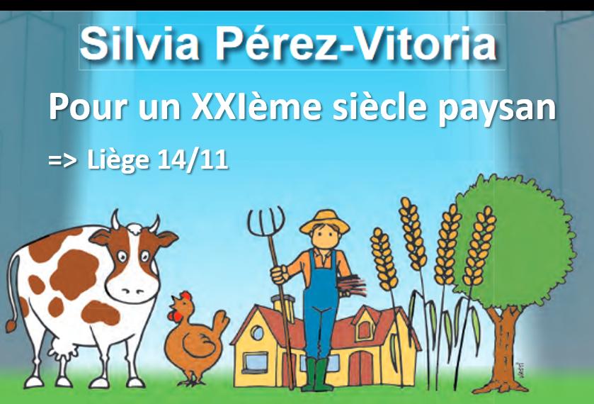 Rencontre-débat avec Silvia Pérez-Vitoria: pour un XXIe siècle paysan