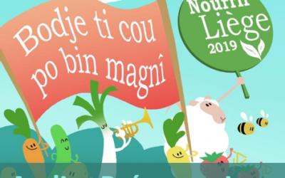 Parade Nourrir Liège 2019 – investissez vous pour faire résonner la transition alimentaire!