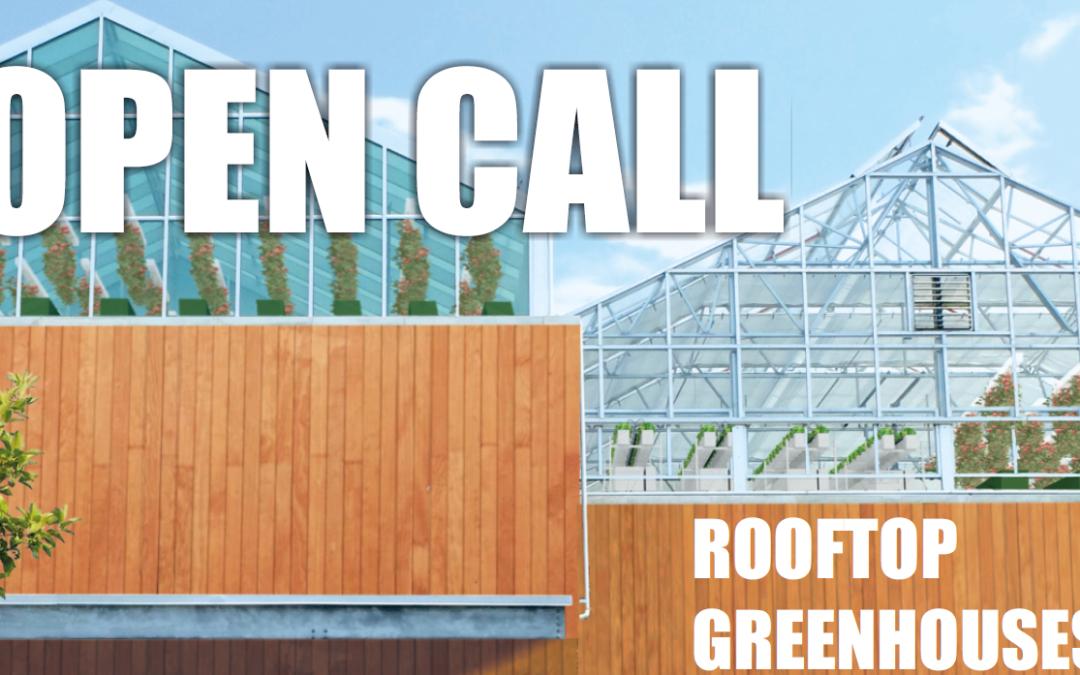 Vous souhaitez installer une serre de légumes sur votre toit? Groof vous aide.