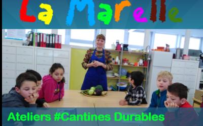 Premiers ateliers Cantines Durables à l'école La Marelle d'Amay