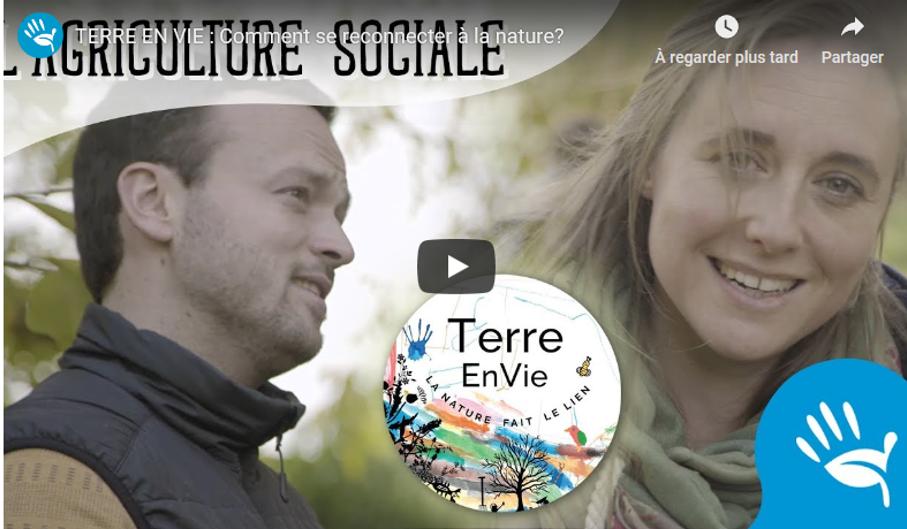 Terre en Vie: ou comment le handicap se transforme en soutien d'une agriculture durable