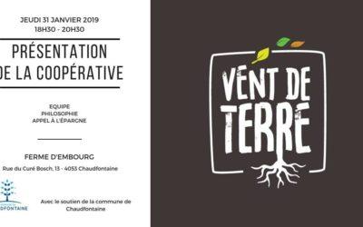 Vent De Terre: participez au lancement d'une coopérative de maraichers à Tilff!