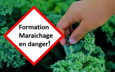 Formation agricole professionnelle du CRABE en danger : carte-blanche d'un maraicher