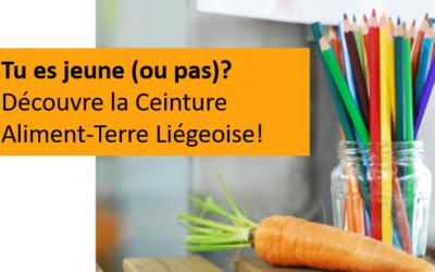 Découvre la Ceinture Aliment-Terre Liégeoise! Un article pour et par les jeunes!