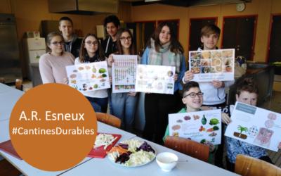 La CATL conscientise les élèves de la section cuisine de l'A.R. Esneux à l'alimentation durable