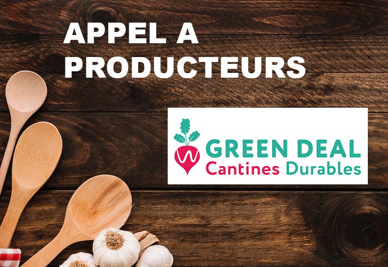 Devenez fournisseur des Cantines Durables en province de Liège #GreenDeal