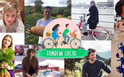 Tandem Local by « Mangez-local » & « Permavenir TV » : rencontre des producteurs à vélo!