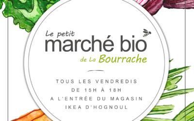 Le Petit Marché Bio de la Bourrache rouvre ses portes!