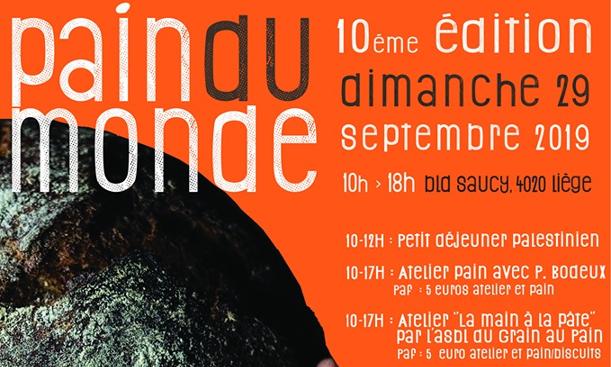 L'Aquilone propose la journée «Pain du Monde» 29/09