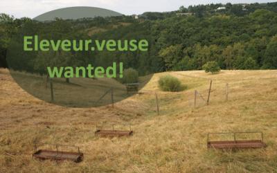 Eleveur.veuse demandé.e pour 4 ha de prairies, en gestion écologique à la ferme des Piétresses à Liège