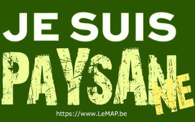 Rejoignez le mouvement du MAP «Je suis PaysanNE»