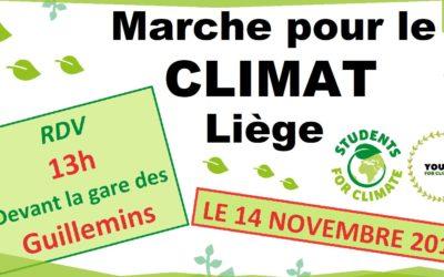 Les jeunes marchent pour le climat (et une meilleure alimentation)