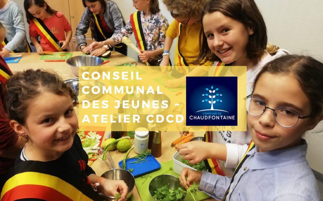Les jeunes de Chaufontaine s'initient à l'alimentation durable avec le CDCD