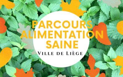 Parcours Alimentation Saine  du PCS de la Ville de Liège