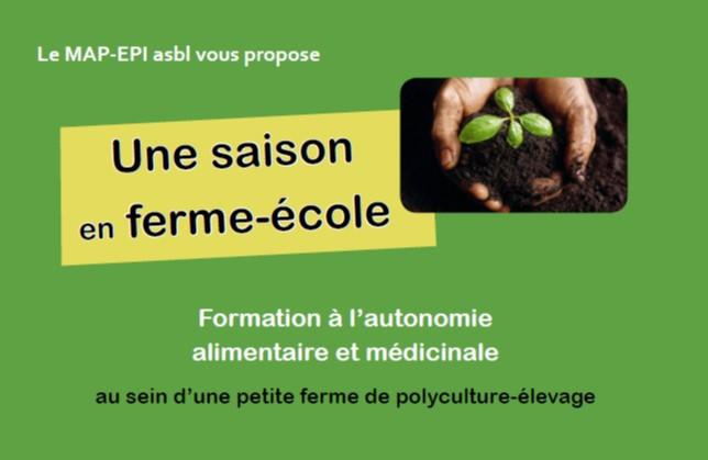 Formation qualifiante en agroécologie à la ferme de Bierleux