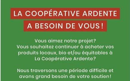 Soutenez le seul distributeur en ligne de produits bio & locaux à Liège !