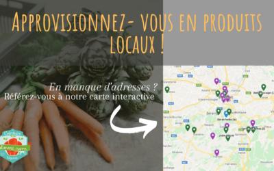 Consultez la carte des alternatives liégeoises à la grande distribution !