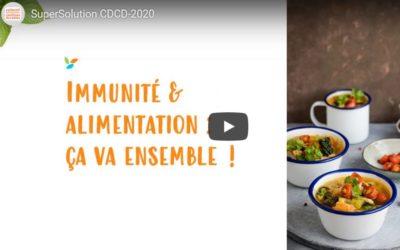 Le Collectif Développement Cantines Durables propose des solutions alimentaires pour booster son immunité