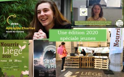Retour sur l'implication des jeunes malgré l'annulation du festival Nourrir Liège 2020