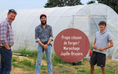 Le projet citoyen de verger-maraichage de Jupille-Bruyère : à suivre !