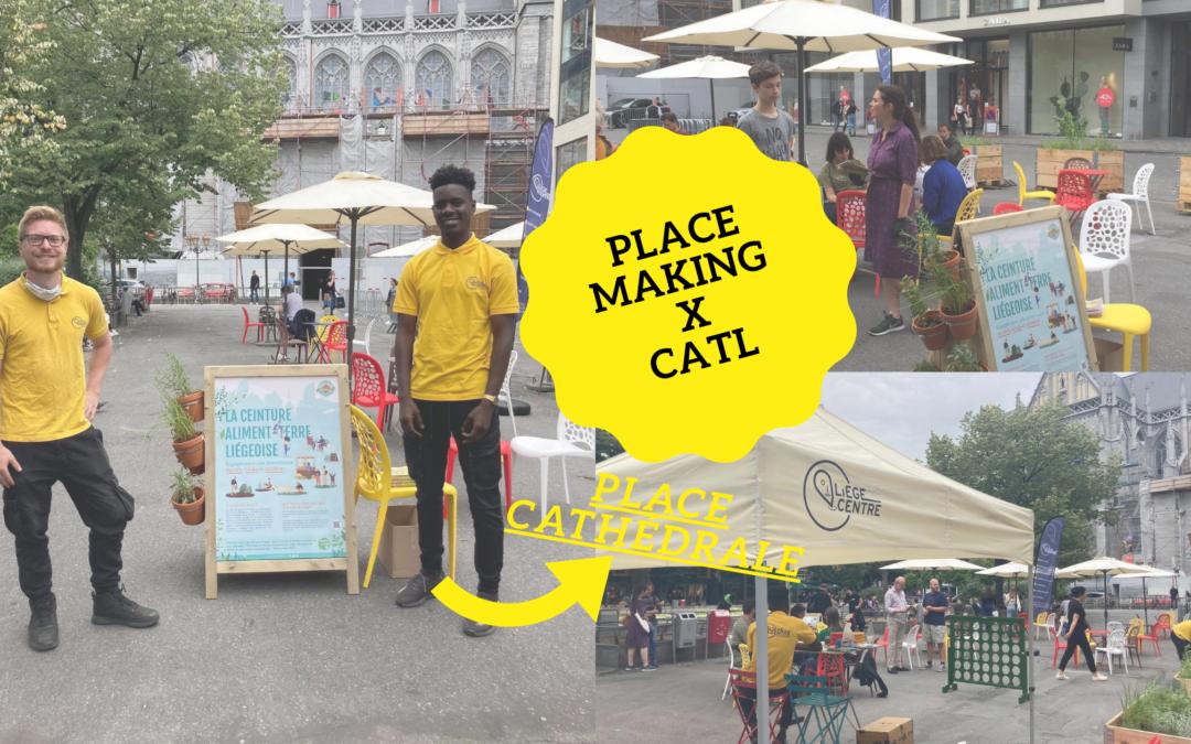 Cet été, Place Making s'associe avec la CATL !