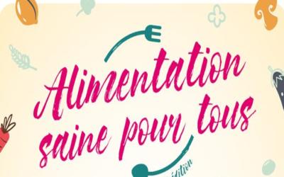 Journée Alimentation Saine Pour Tous à Liège le 16 octobre : rendez-vous Place Cathédrale !