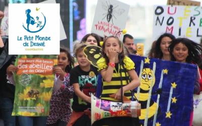Sensibilisation à l'environnement pour les écoles avec la Ferme de Desnié