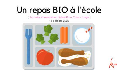 Commandez un menu bio avec ISoSL pour la journée Alimentation Saine Pour Tous 16/10