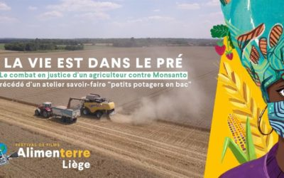 «La vie est dans le pré» un film du festival Alimenterre à voir au CRIE de Liège 16/10