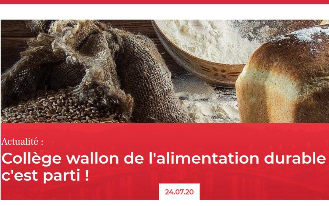 La CATL prend part au nouveau Conseil Wallon de l'Alimentation Durable