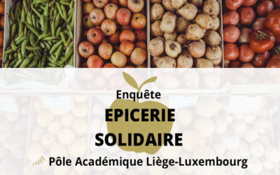 Répondez à l'enquête du Pôle Académique pour une épicerie solidaire étudiante à Liège