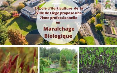 Visite de l'école d'horticulture de Liège : lieu pédagogique pour une production alimentaire durable