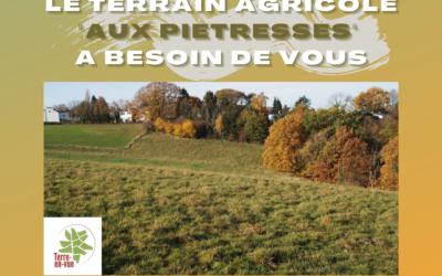 Projet Collectif aux Piétresses à Jupille-sur-Meuse : verger et élevage soutenu par Terre-En-Vue
