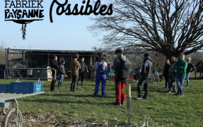 Présentation du collectif bruxellois Fabriek Paysanne et de son nouvel outil maraicher la « Kabalèze »