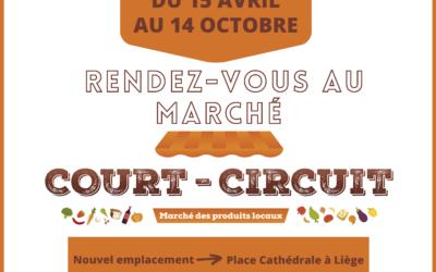 Ouverture du Marché Court-Circuit ce jeudi 15 avril !