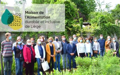 Lancement de la Maison de l'Alimentation Durable et Inclusive de Liège ce 28 mai 2021
