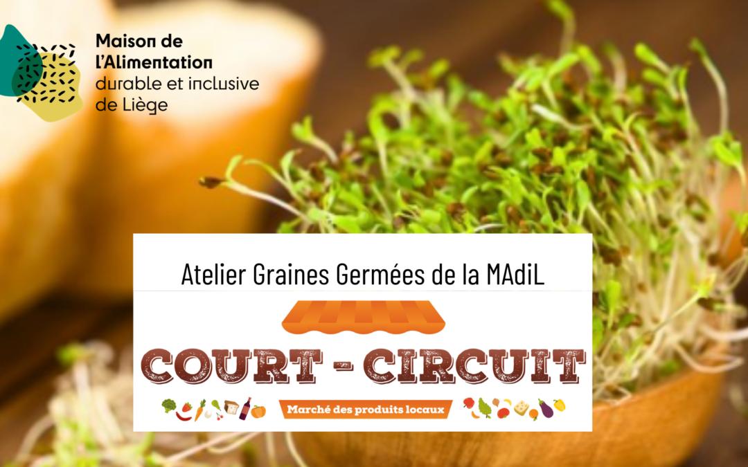 Le marché Court-Circuit c'est reparti ! Venez rencontrer l'équipe de la Maison de l'Alimentation le 1/07