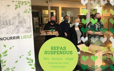 Les Repas solidaires à emporter : une expérience «Nourrir Liège» à pérenniser !