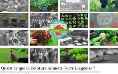 Aidez une étudiante à mieux définir la Ceinture Aliment-Terre Liégeoise : remplissez le sondage !