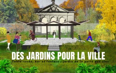 Rencontre avec Eric Lenoir pour repenser les jardins pour la Ville de Liège avec Urbagora 14/09