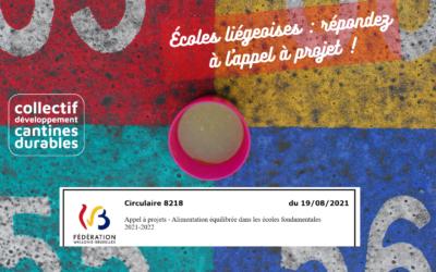 Écoles fondamentales liégeoises : bénéficiez d'une aide wallonne pour une alimentation saine via le CDCD