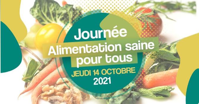 Journée Alimentation Saine Pour Tous : des activités multiples, un marché et une conférence ce 14/10 à Liège