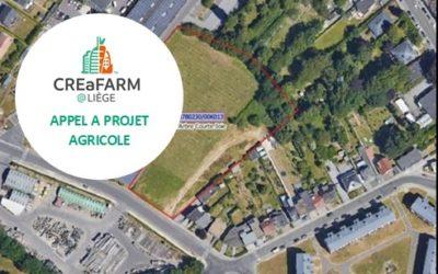 CREaFARM : deuxième appel à projet agricole pour un terrain de la Ville de Liège